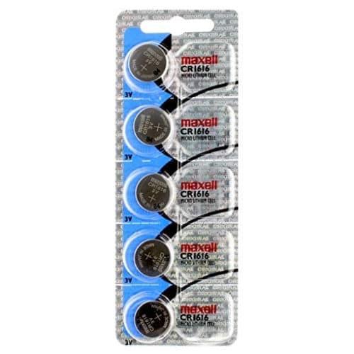 blister de pila maxell cr1616 de 5 unidades