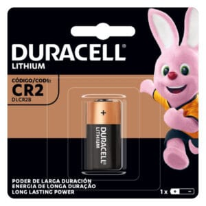 pack de una pila duracell de litio cr2