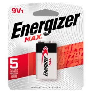 blister de pilas energizer 9v