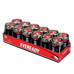 caja de pilas eveready d de 24 unidades