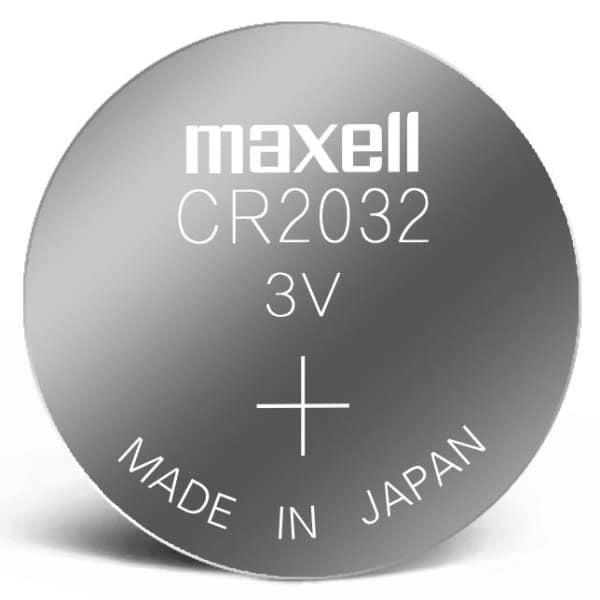 blster de pila maxell cr2032