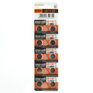 blister de pila maxell lr1130 de 10 unidades