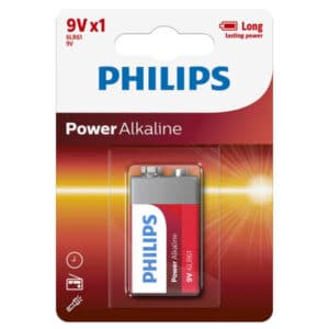 blister de pila 9v philips