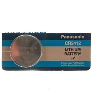blister de una unidad cr2412 panasonic