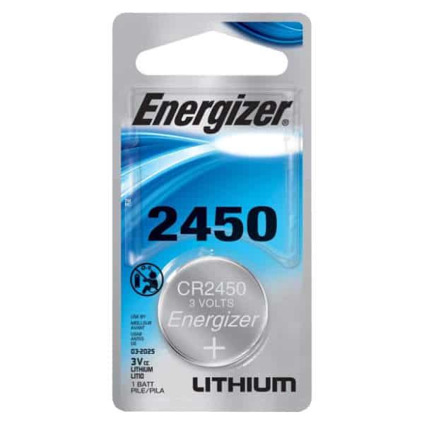 blister de una unidad de pila energizer cr2450