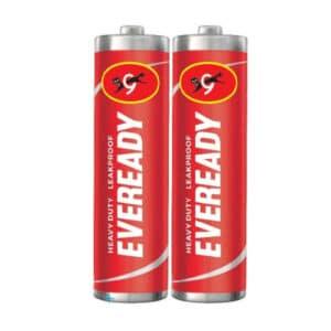 bolsa de pila aa de 24 unidades eveready rojas