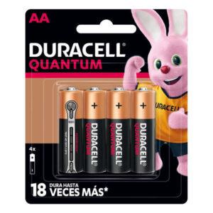 blister de pilas duracell quantum aa