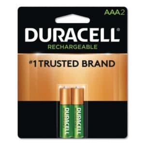duracell recargable 2 unidades