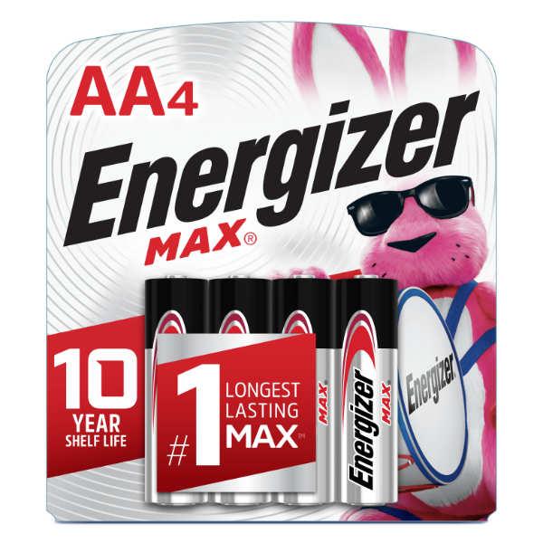 blister energizer 4 unidades aa max