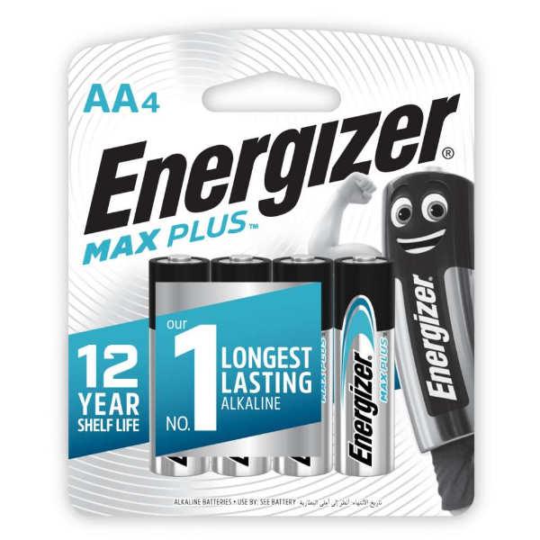 blister eneregizer de 4 unidades aa max plus