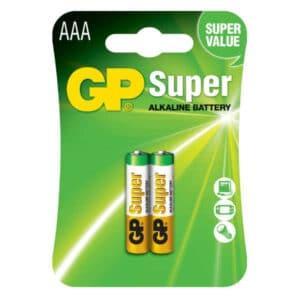 blister de 2 unidades de pila doble gp alcalina