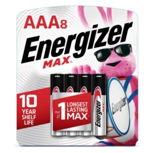 blister de pila energizer de 8 unidades