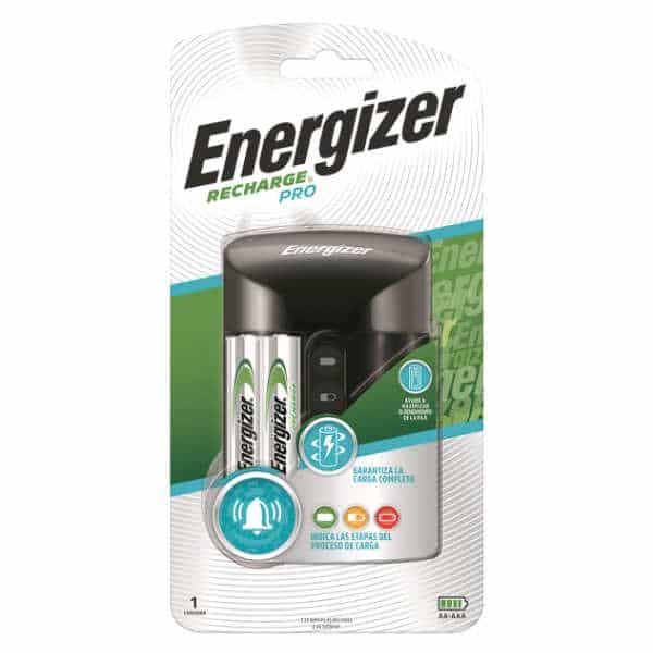 cargador de pila energizer pro 2 unidades