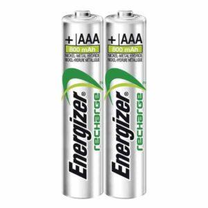 dos unidades de pila energizer aaa recargable