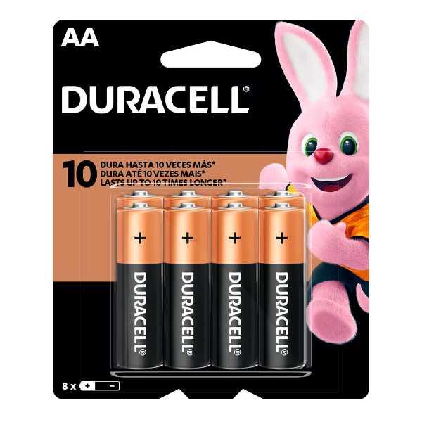duracell aa blister de 8 unidades