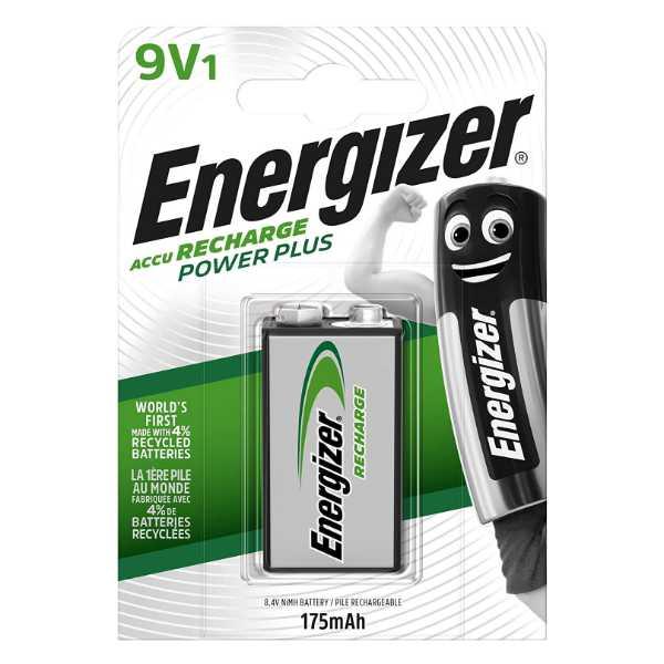 pila recargable 9v marca energizer
