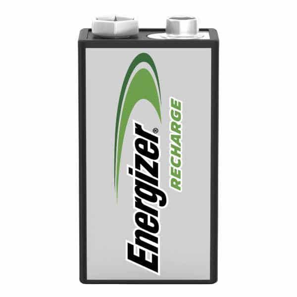 unidad de pila recargable 9v energizer una unidad