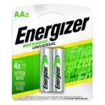recargable aa marca energizer