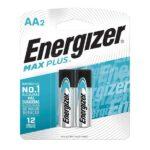 blister de 2 unidades de pila aa energizer max plus