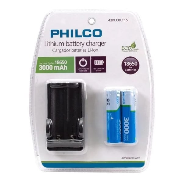cargado-pila-18650-philcox2pilas-embase